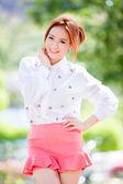 Beautiful asian girl — Stock Photo
