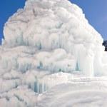 Ice sculpture — Stock Photo