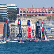 34th America's Cup World Series 2013 in Naples - Stock Photo