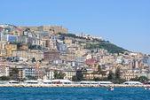 Widok z neapolu — Zdjęcie stockowe