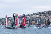 ナポリの三十四アメリカズ カップ シリーズ 2013 — ストック写真