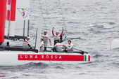34th America's Cup World Series 2013 in Naples — ストック写真