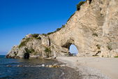 Natural arch in Palinuro, Italy — Stock Photo