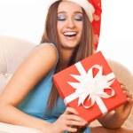 Happy christmas girl — Stock Photo #16229031