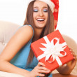Happy christmas girl — Stock Photo #16229031