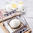 Hard-boiled egg - Stock fotografie