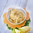 Pumpkin risotto — Foto de Stock