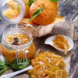 All orange marmalade — Stockfoto