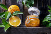 All orange marmalade — Stock Photo