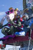 Carnival of Viareggio Italy — Stock Photo