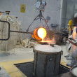 Bronze casting - Stock Photo