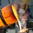 Stock Photo: Bronze casting