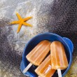 bunte Obst Eis jolly — Stockfoto #31535063
