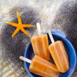 bunte Obst Eis jolly — Stockfoto