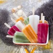 Colourful Fruit Ice Jolly — Stock Photo #31536075