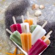 Colourful Fruit Ice Jolly — Stock Photo #31536233