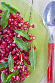 Product Of The Autumn Season Pomegranate — Stock Photo
