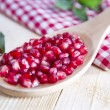 Stock Photo: Product Of Autumn Season Pomegranate