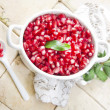 Product Of Autumn Season Pomegranate — Stock Photo #33053181