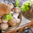 Stock Photo: Mixed Mushrooms