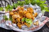 Chanterelle Mushroom — Stock Photo