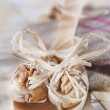 Dried figs and nuts — Stock Photo #36179991