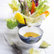 Vinaigrette with mixed vegetables — Stock Photo #37440203