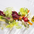 Vinaigrette with mixed vegetables — Stock Photo #37441465