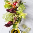 Vinaigrette with mixed vegetables — Stock Photo #37441625