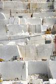 Marble quarry in Carrara White Italy — Stock Photo