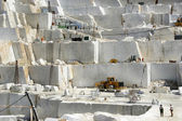 Marble quarry in Carrara White Italy  — Stock Photo