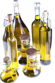 Series of bottles of olive oil  — Stock Photo