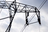 Maintenance of a power line  — Стоковое фото