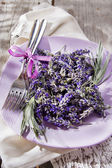 Presentation of lavender flower  — Photo