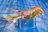Crustacean canned  — Stock Photo