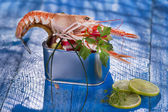 Crostacei in scatola — Foto Stock