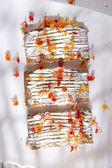 Sandwich van brood en kaas — Stockfoto