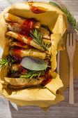 Plate of fries  — Stok fotoğraf