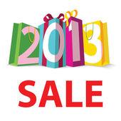 Gift Sale 2013 — Stock Vector
