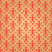 Gold wallpaper — Stock Vector
