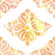 Colors seamless eastern ornament, abstraction watercolor — Stock Photo
