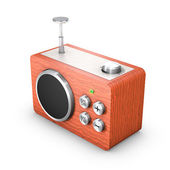 3D vintage touch radio receiver — ストック写真