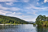 View from the Ferry House, Windermere — Stock Photo