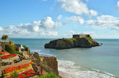 St Catherines Island, Tenby, on a summers day — Stock Photo