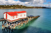 View of a converted lifeboat station, Tenby. — Stock Photo