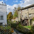 Stock Photo: Waterwheel at Ambleside, English Lake District