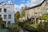 Waterwheel at Ambleside, English Lake District — Stock Photo