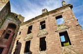 Nithsdale Lodging at Caerlaverock Castle — Stock Photo