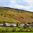 Buckden Village in Wharfdale, Yorkshire Dales — Stock Photo