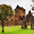 Stock Photo: View of Sweetheart Abbey, Dumfries and Galloway